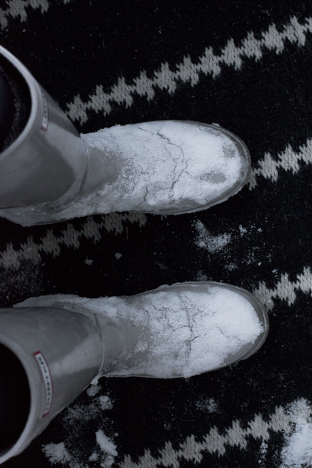 hunter boots style winter snow