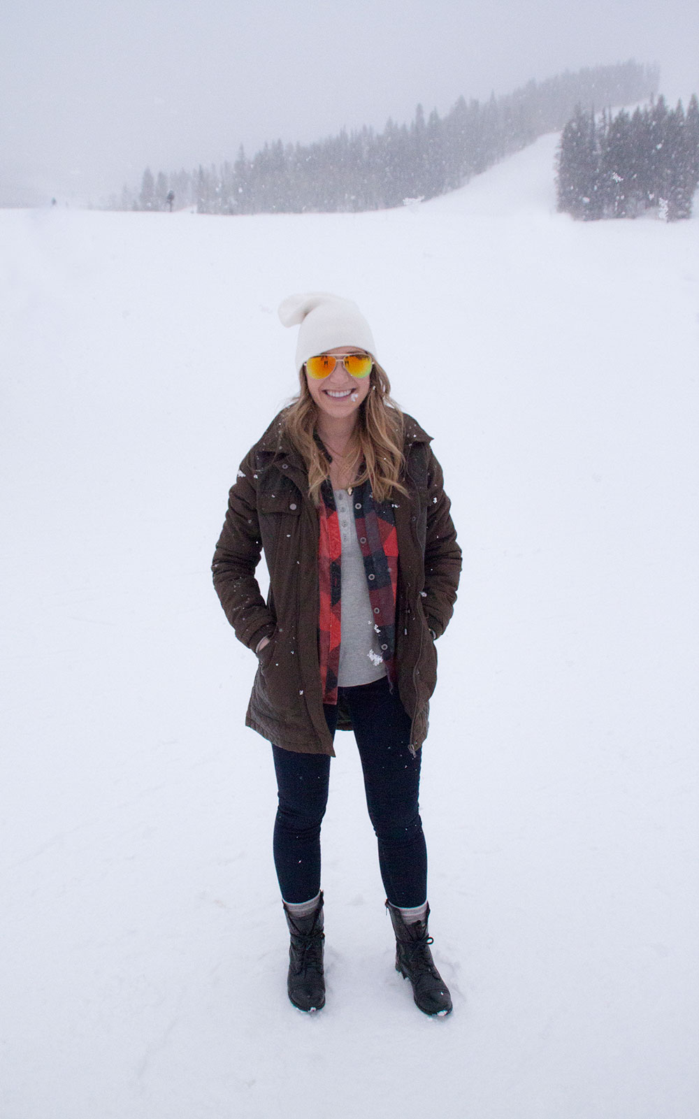 Buffalo Check Olive Green Winter Style