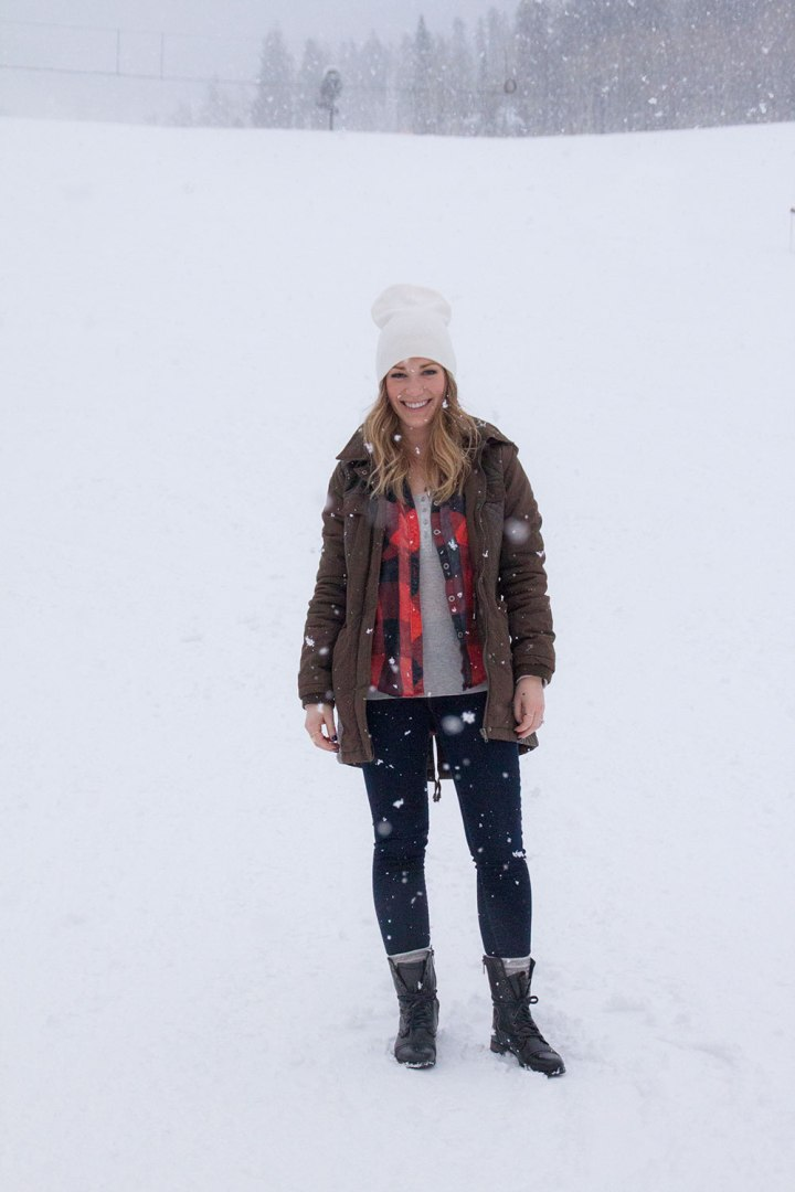 style post fashion buffalo plaid beaver creek