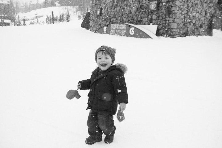 toddler snow winter beaver creek