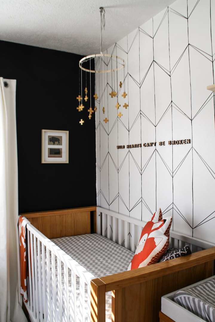 Beautiful Nursery for Baby girl in Kansas City